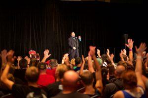 Paul Draper at convention